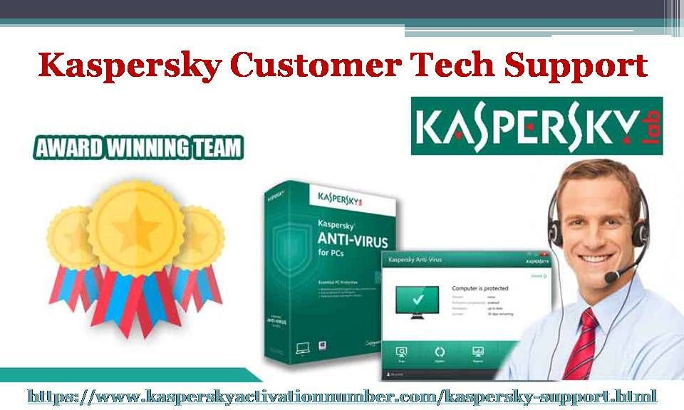 Kaspersky customer tech support help to protect the