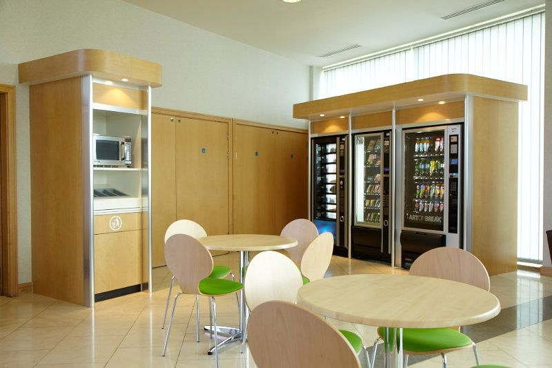 Canteen area fully redesigned including state of the art